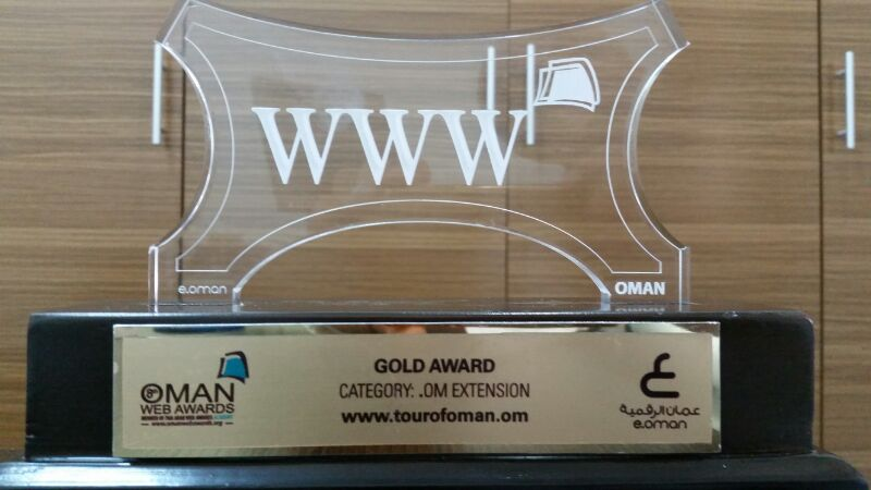 Muscat Municipality received three awards within Oman web Awards